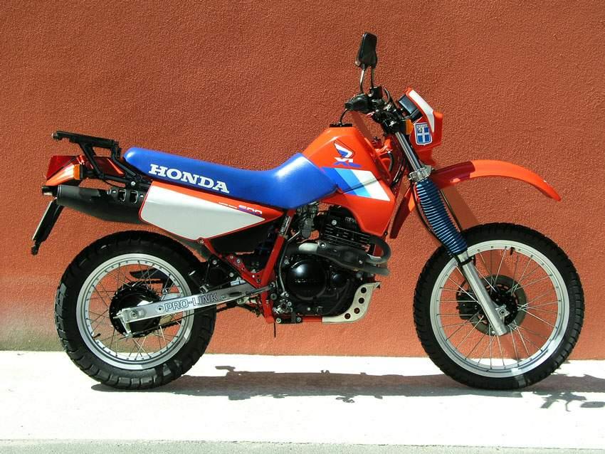 XL600 RM '86