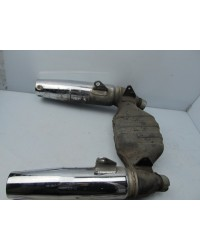HONDA VT700C SHADOW MUFFLERS USED GENUINE
