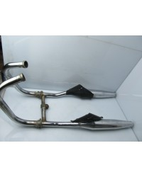 HONDA REBEL COMPLETE EXHAUST SYSTEM