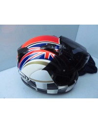 ARAI HELMET USED QUANTUM SMALL FLAG SERIES ARAI
