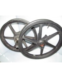 pair wheel rims cbr125